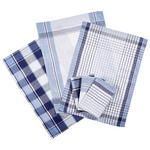 GESCHIRRTUCH-SET  6-teilig  - Blau, KONVENTIONELL, Textil (50/70cm) - Boxxx