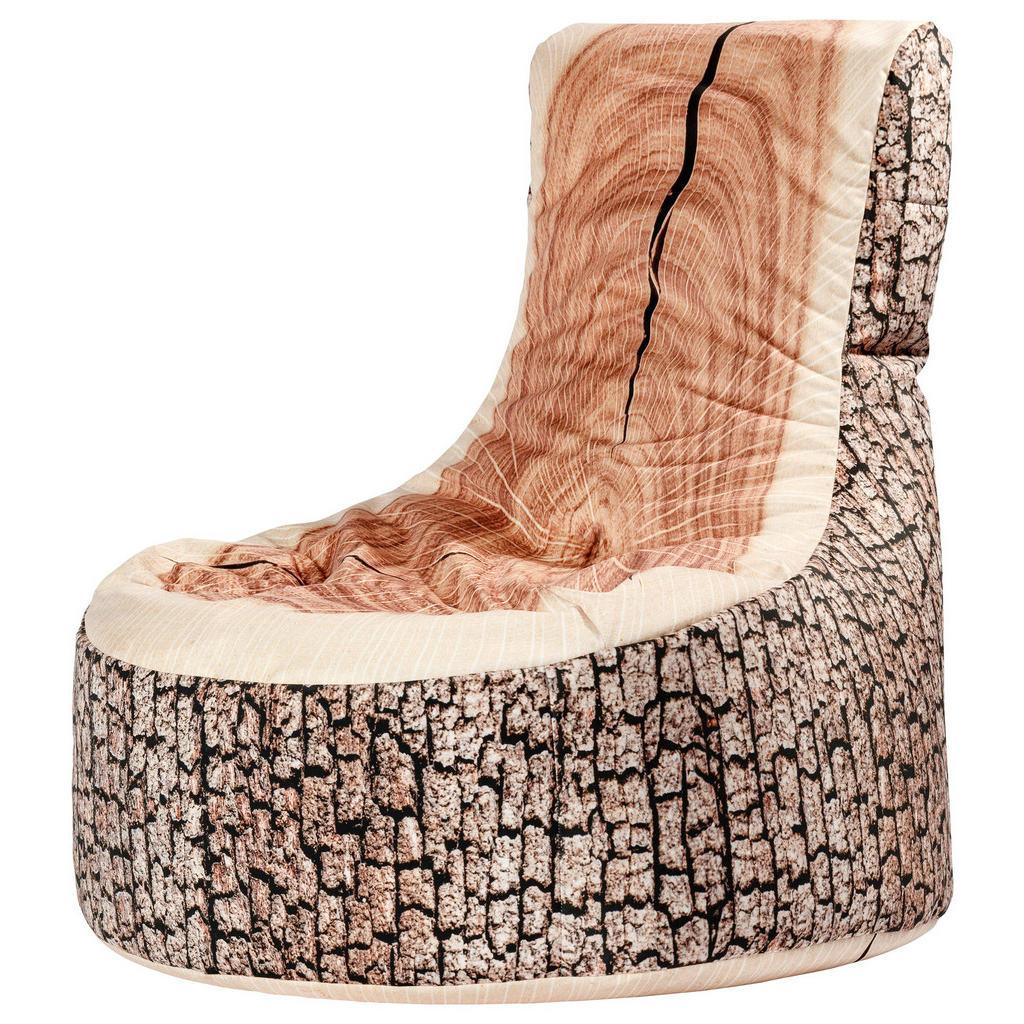 Sitzsack in Baumstammoptik von CarryHome