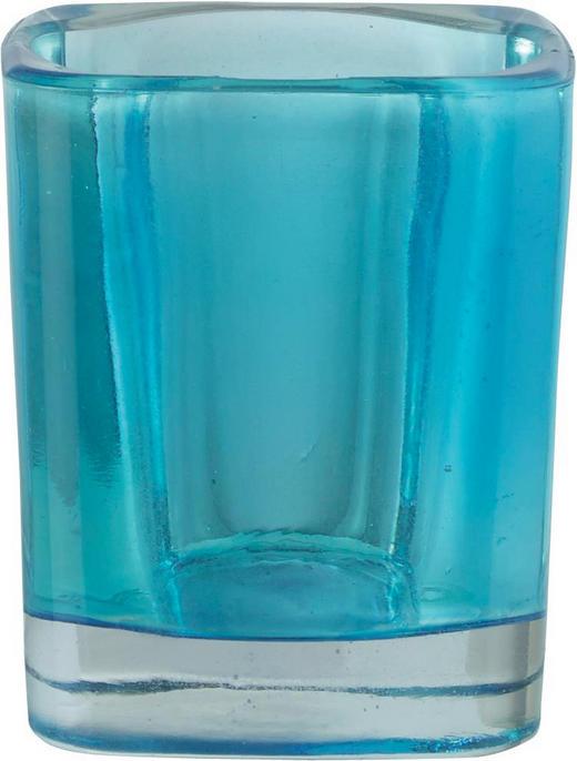 TEELICHTGLAS - Blau, Basics, Glas (0cm)