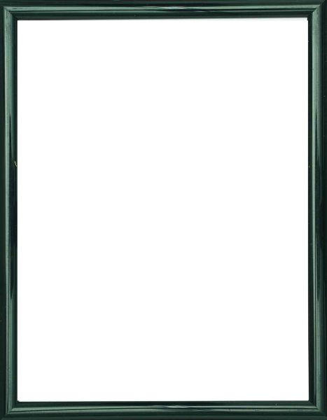 BILDERRAHMEN  Schwarz - Schwarz, Basics, Glas/Kunststoff (19/14/1.75cm)