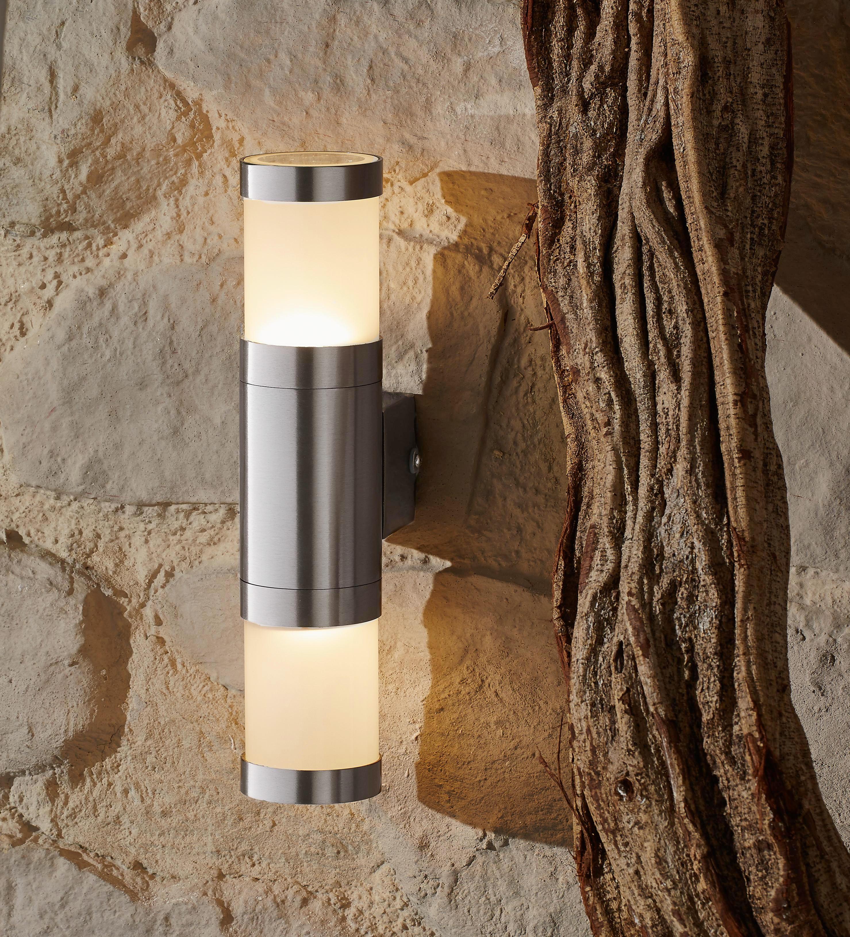LED-UTOMHUSBELYSNING - klar, Klassisk, metall/glas (6/10,4/30,3cm) - Ambia Garden