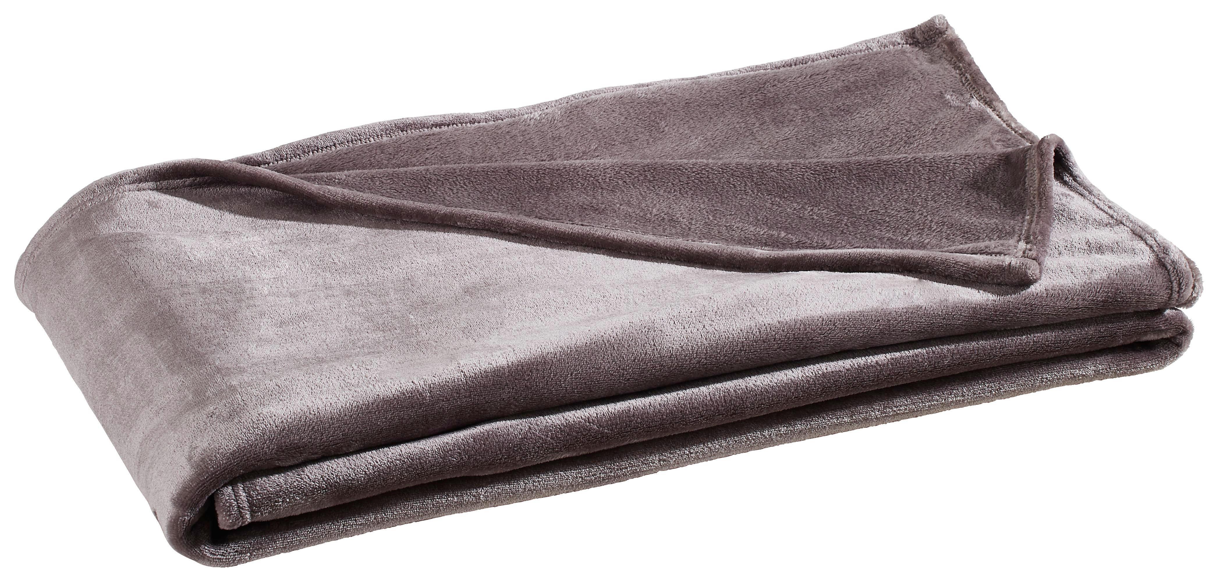 Fleece-Decke 140x200 cm rot Wärmedecke Kuscheldecke Flausch-Decke Heimdecke