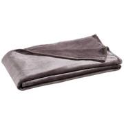 WOHNDECKE 140/190 cm Anthrazit  - Anthrazit, KONVENTIONELL, Textil (140/190cm) - Novel