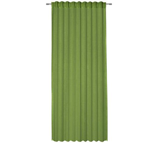 ZÁVĚS, průhledné, 135/245 cm - zelená, Basics, textil (135/245cm) - Esposa