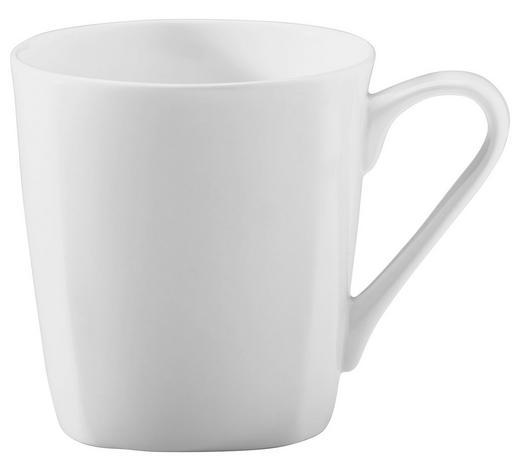 HRNEK NA KÁVU, kostní porcelán (bone china) - bílá, Basics, keramika (8,5/9cm) - Novel