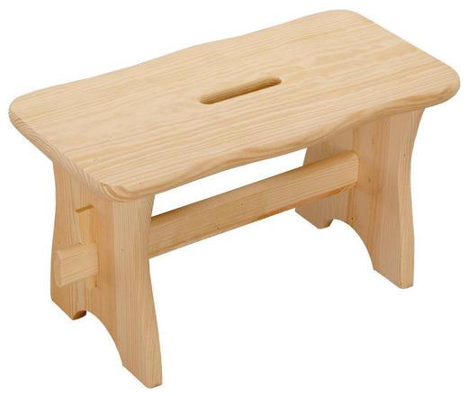 FUßBANK - Naturfarben, Basics, Holz (38,5/21/19cm)
