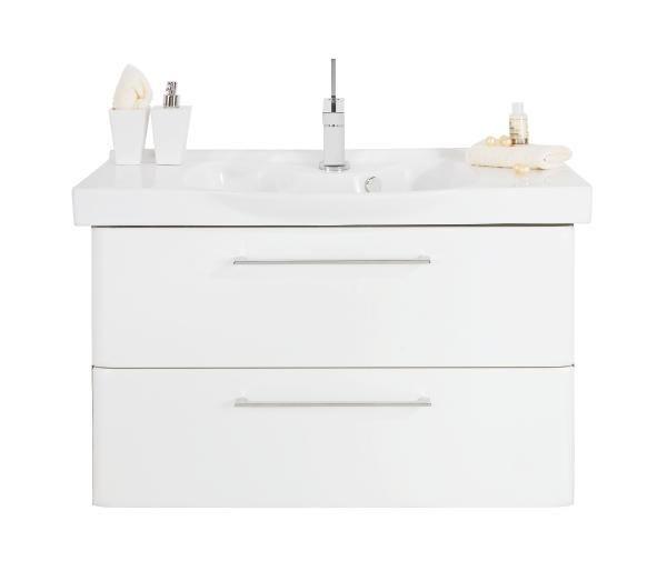 DONJI ELEMENT ZA UMIVAONIK - bijela/boje grafita, Konvencionalno, drvni materijal (86/51/42cm) - XORA