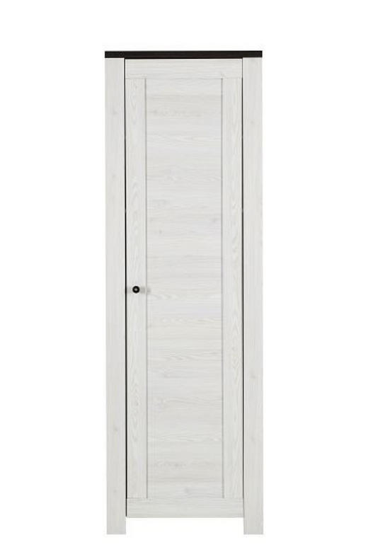 GARDEROBENSCHRANK Weiß - Weiß/Braun, LIFESTYLE, Holz/Holzwerkstoff (65/200/40cm) - Landscape