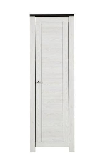 ORMAR GARDEROBNI - bijela/boje pinije, Design, drvni materijal/drvo (65/200/40cm) - Landscape