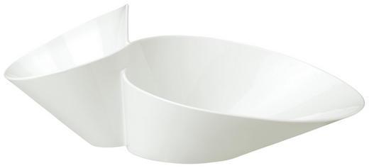 SCHALE Keramik Fine China - Weiß, Basics, Keramik (27/49cm) - Villeroy & Boch