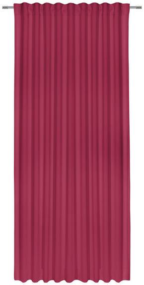 GARDINLÄNGD - mörkröd, Basics, textil (140/300cm) - Esposa