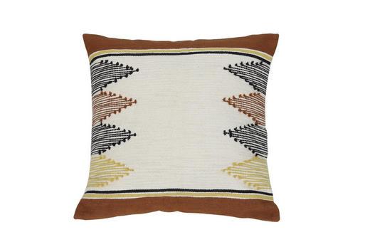 ZIERKISSEN - Braun, Natur, Textil (45/45cm)