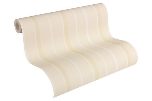 VLIESTAPETE 10,05 m - Beige/Creme, Design, Papier (53/1005cm)