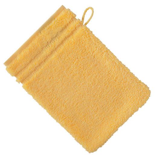 WASCHHANDSCHUH - Honig, Basics, Textil (16/22cm) - VOSSEN