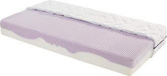 Komfortschaummatratze Ergo Duo 120x200cm H2 - Weiß, Textil (120/200cm) - Primatex
