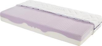 Komfortschaummatratze Ergo Duo 90x200cm H2 (gerollt) - Weiß, Textil (90/200cm) - Primatex