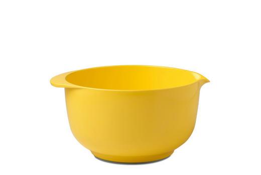 RÜHRSCHÜSSEL - Gelb, Design, Kunststoff (28/24/13,5cm) - Mepal Rosti