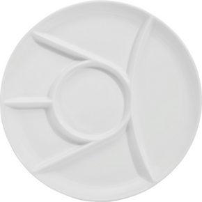 FONDUETALLRIK - vit, Basics, keramik (25cm) - Homeware Profession.