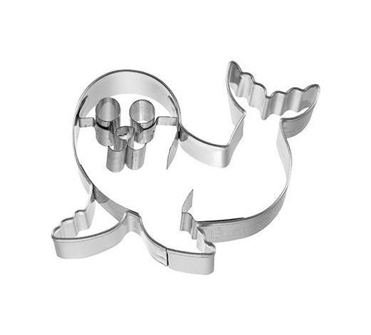 KEKSAUSSTECHFORM - Edelstahlfarben, Basics, Metall (7/2,5/5,4cm) - Birkmann
