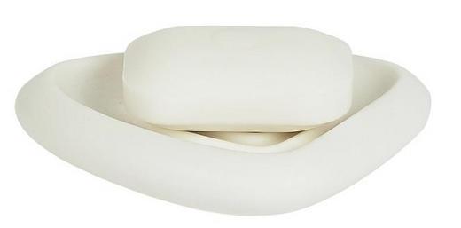 SEIFENSCHALE - Weiß, Basics (15/3cm) - SPIRELLA