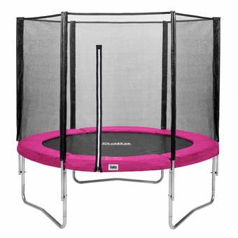 TRAMPOLIN SALTA COMBO Pink, Schwarz - Pink/Schwarz, Kunststoff/Metall (183cm)