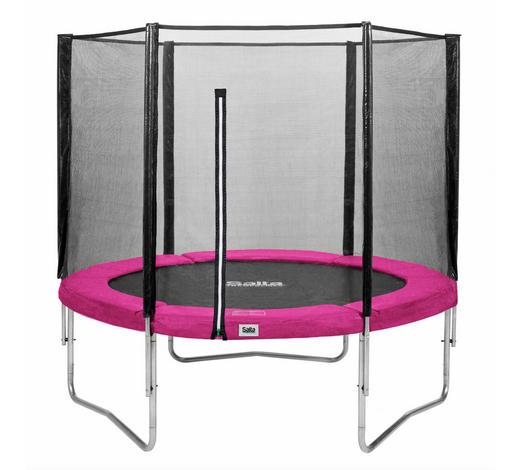 TRAMPOLIN SALTA COMBO Schwarz, Pink  - Pink/Schwarz, Kunststoff/Metall (244cm)