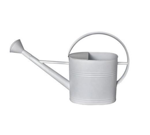 GIEßKANNE - Weiß, Basics, Metall (59/16/36cm) - Ambia Home