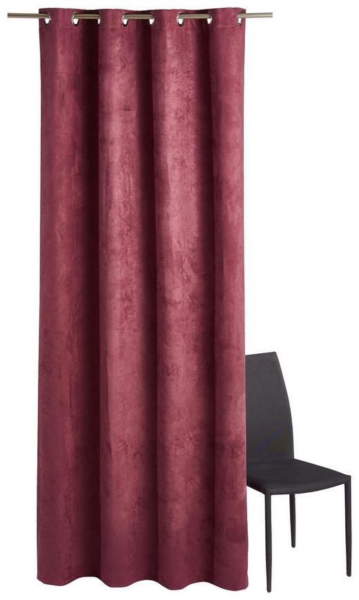 ÖSENSCHAL  blickdicht   140/245 cm - Altrosa, Basics, Textil (140/245cm)