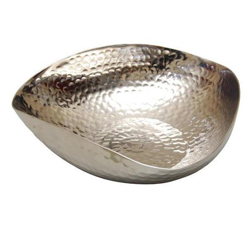 DEKOSCHALE - Silberfarben, Design, Metall (25/6,5cm) - Ambia Home