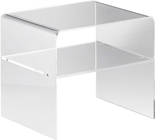 BEISTELLTISCH Klar - Klar, Design, Kunststoff (40/35/33cm)