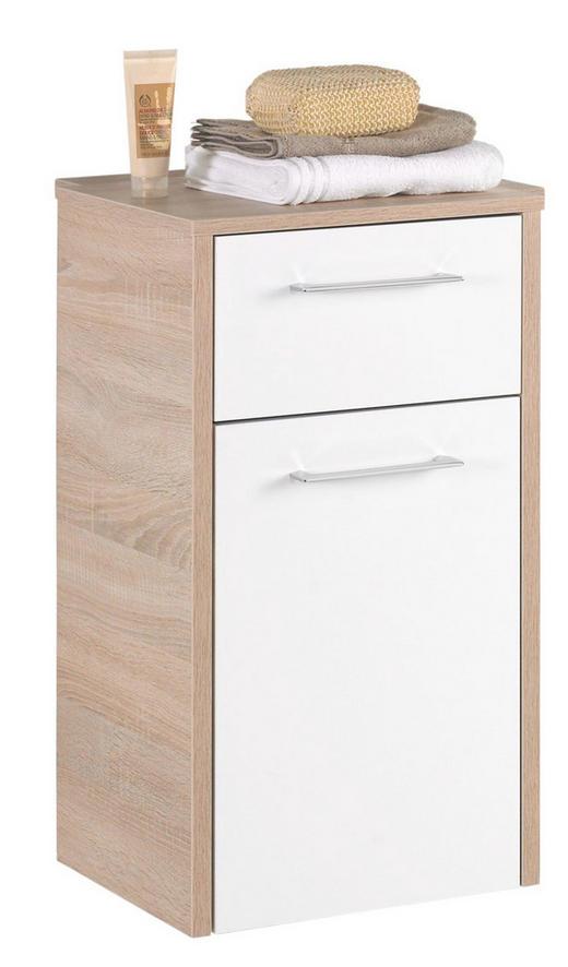 UNDERSKÅP - vit/kromfärg, Design, trä (40/72/33cm) - Xora