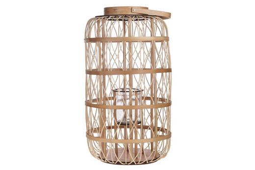 LATERNE - Basics, Glas/Holz (46/80cm)