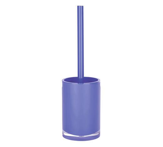 WC-BÜRSTENGARNITUR in Kunststoff - Blau, Basics, Kunststoff (10/36cm) - Sadena