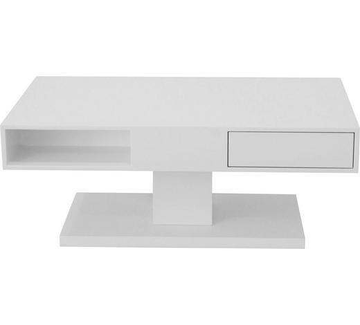 Couchtisch in Weiß  - Weiß, Design, Holzwerkstoff (110/60/45cm) - Xora