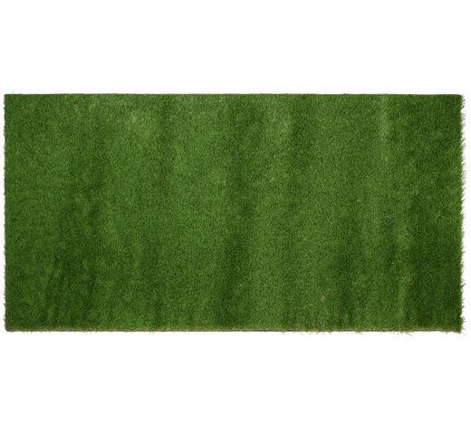 TRÁVNÍKOVÝ KOBEREC - zelená, Basics, umělá hmota (100/200/3cm) - Ambia Garden