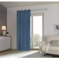 ZÁVĚS HOTOVÝ - modrá, Basics, textil (140/245cm) - Esposa