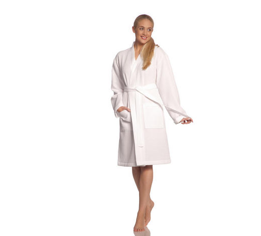 BADEMANTEL XXL  - Weiß, Basics, Textil (XXLnull) - Vossen