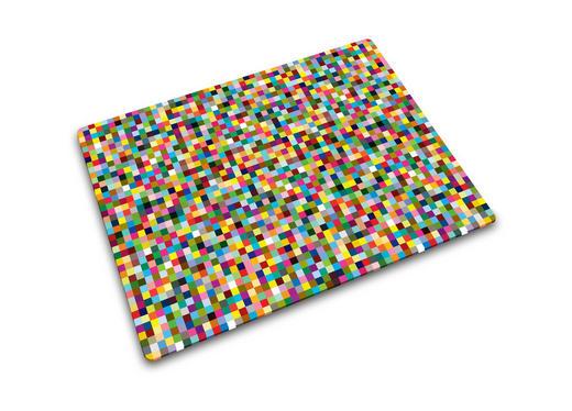 DASKA ZA REZANJE - višebojno, Basics, staklo (30/40/0,7cm)