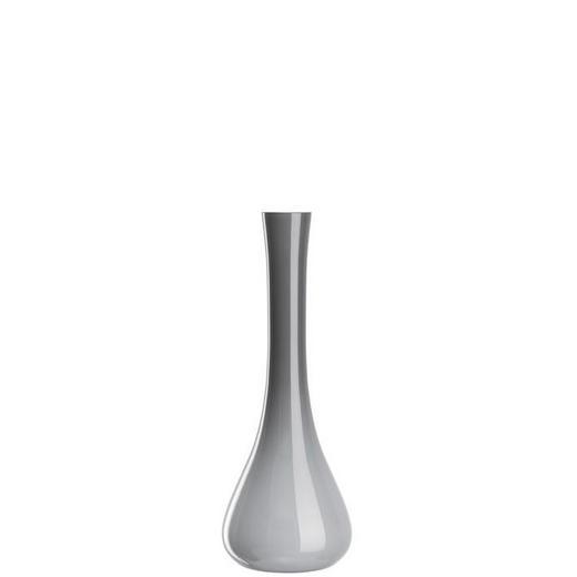 VASE 40 - Grau, Basics, Glas (40cm) - Leonardo