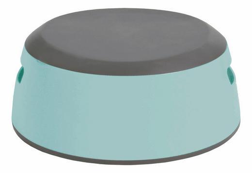Luma Tritthocker - Grau/Mintgrün, Basics, Kunststoff (31/29/13cm)
