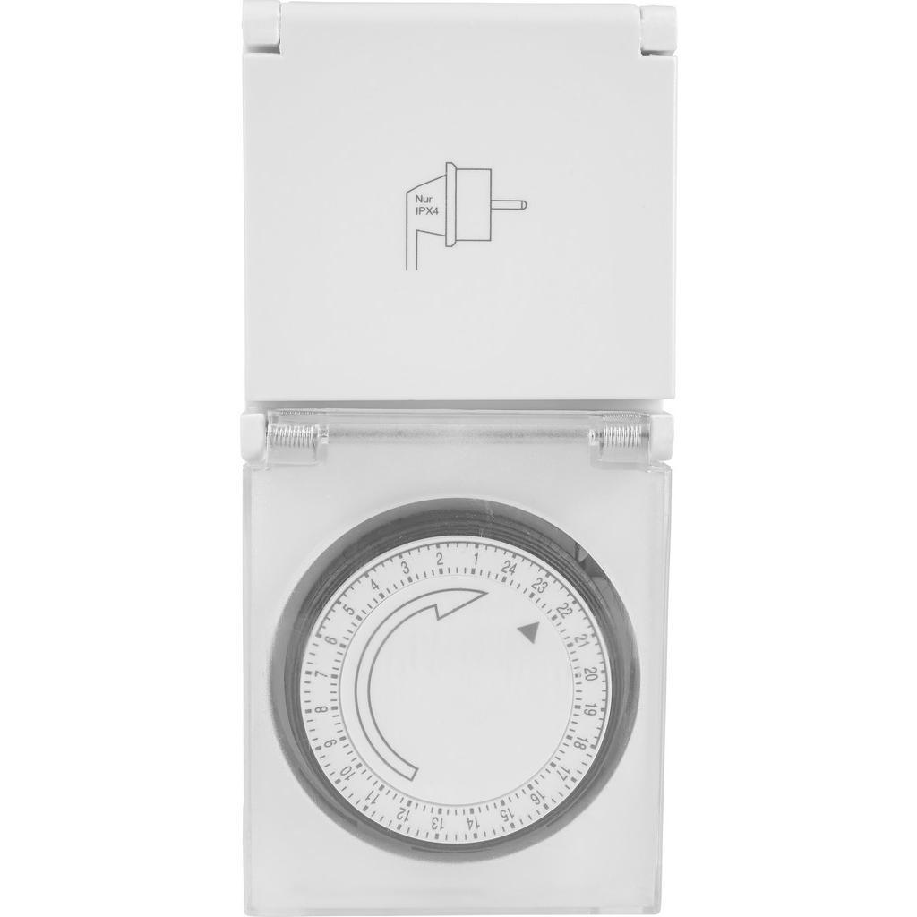 Homeware Zeitschaltuhr weiß
