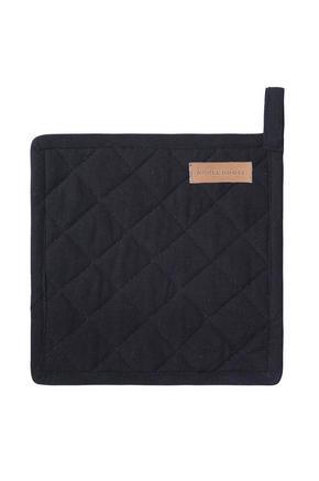GRYTLAPP - svart, textil (20/20/0,75cm)