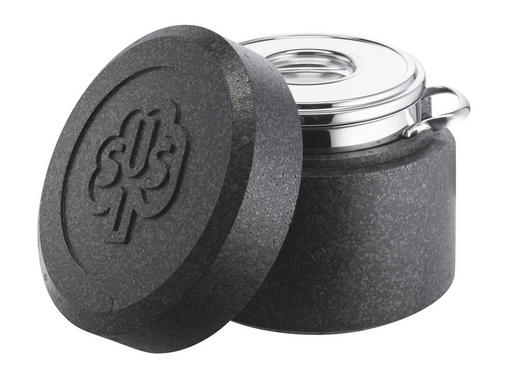 THERMOTOPF Edelstahl  3,50 L - Edelstahlfarben/Graphitfarben, Basics, Kunststoff/Metall (1,68kg) - Schulte Ufer