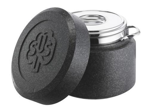 THERMOTOPF Edelstahl  3,50 L - Edelstahlfarben/Graphitfarben, Kunststoff/Metall (1,68kg) - SCHULTE UFER