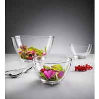 Salatschüsselset - Transparent, Basics, Glas (//null) - Leonardo
