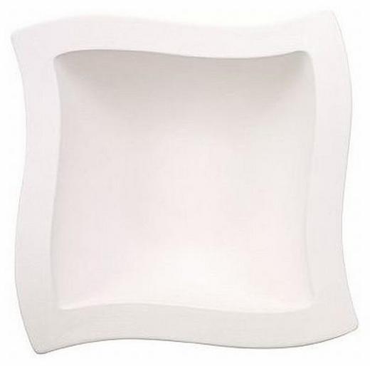 SCHÜSSEL Keramik Fine China - Weiß, Basics, Keramik (25/25cm) - Villeroy & Boch