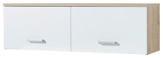 HÄNGEELEMENT Eichefarben, Weiß - Chromfarben/Eichefarben, KONVENTIONELL, Metall (120/38/38cm) - Xora