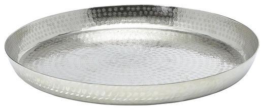 DEKOTABLETT - Silberfarben, Basics, Metall (46cm) - Ambia Home