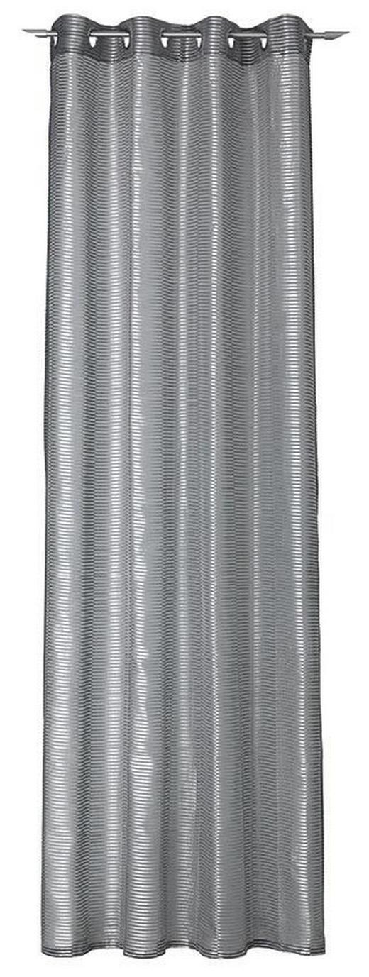 ÖSENSCHAL    140/250 cm - Grau, Design, Textil (140/250cm) - Joop!