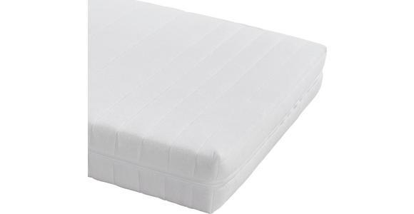 Kaltschaummatratze Lisi 140x200cm H2 - Weiß, KONVENTIONELL, Textil (140/200cm) - Primatex